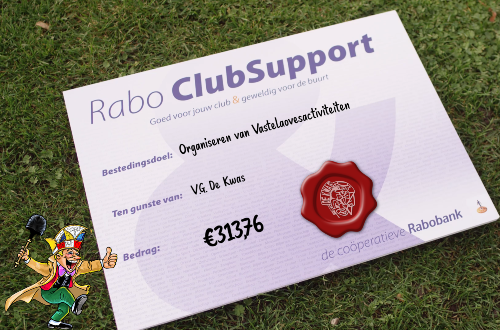 Opbrings Rabo ClubSupport 313,76