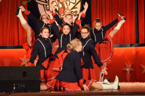Dansgarde op Gardefestival