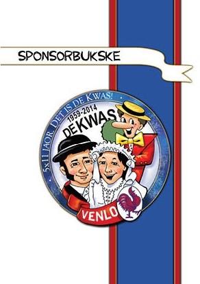 Sponsorboekje V.G. De Kwas